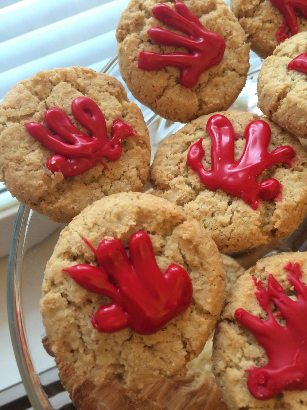 Red Hand Day Cookies