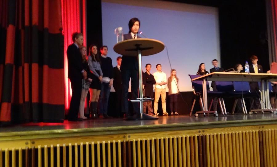 Sabu S. at the closing ceremony