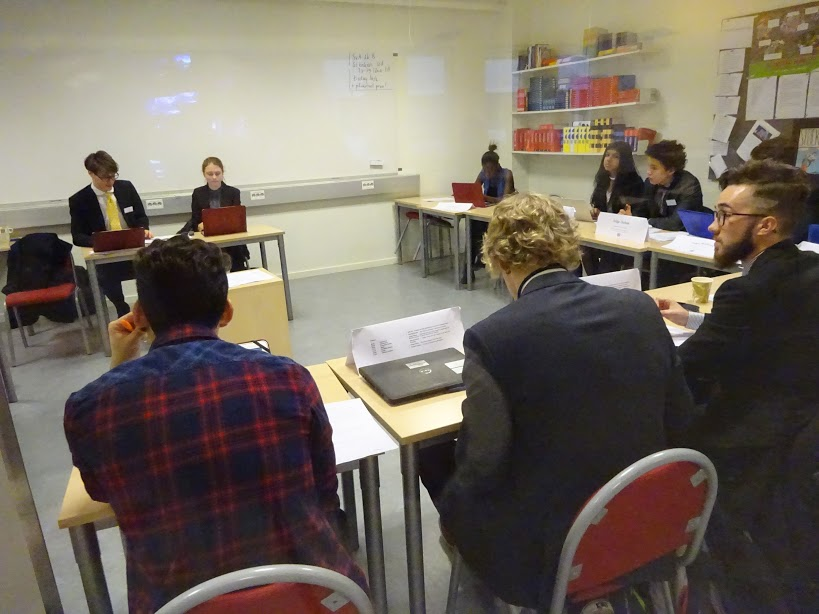 MUN+Conference+in+progress
