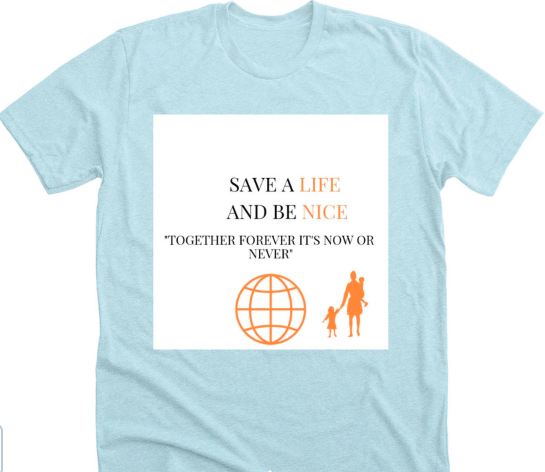 Grade 7s Sell T-shirt to Help Refugees