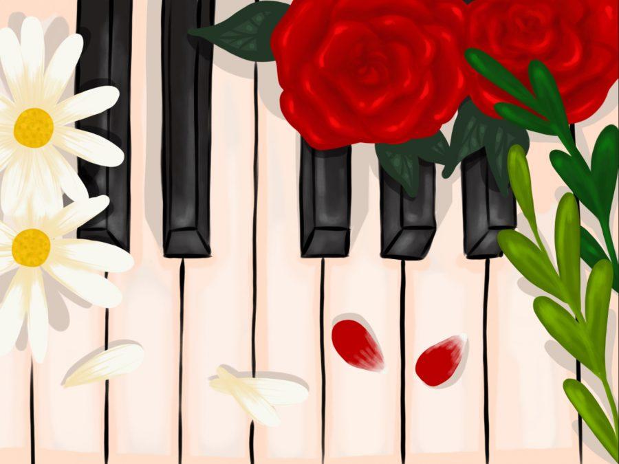 Piano flowers