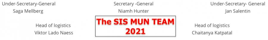 Meet the 2021 SISMUN team!