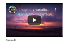 An Imaginary Vacation - A Pandemic Reflection